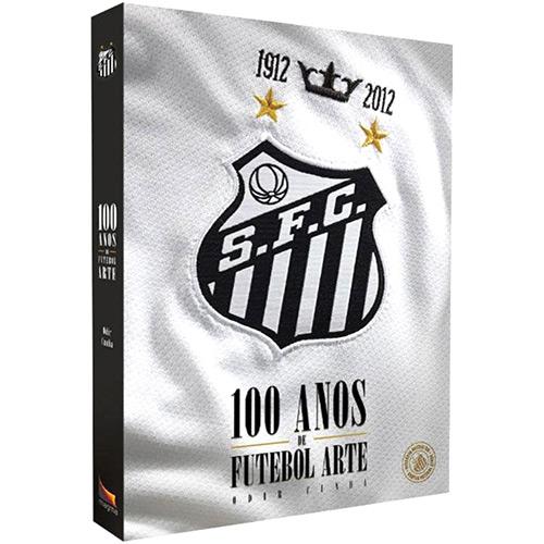 Capa Santos 100 Anos de Futebol Arte