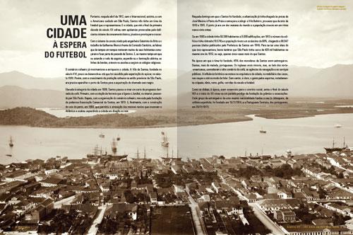 Santos 100 Anos de Futebol Arte